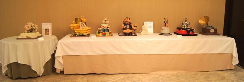 Concurso de tartas en Feria de reposteria Sugar09_2012 por HojadeMenta
