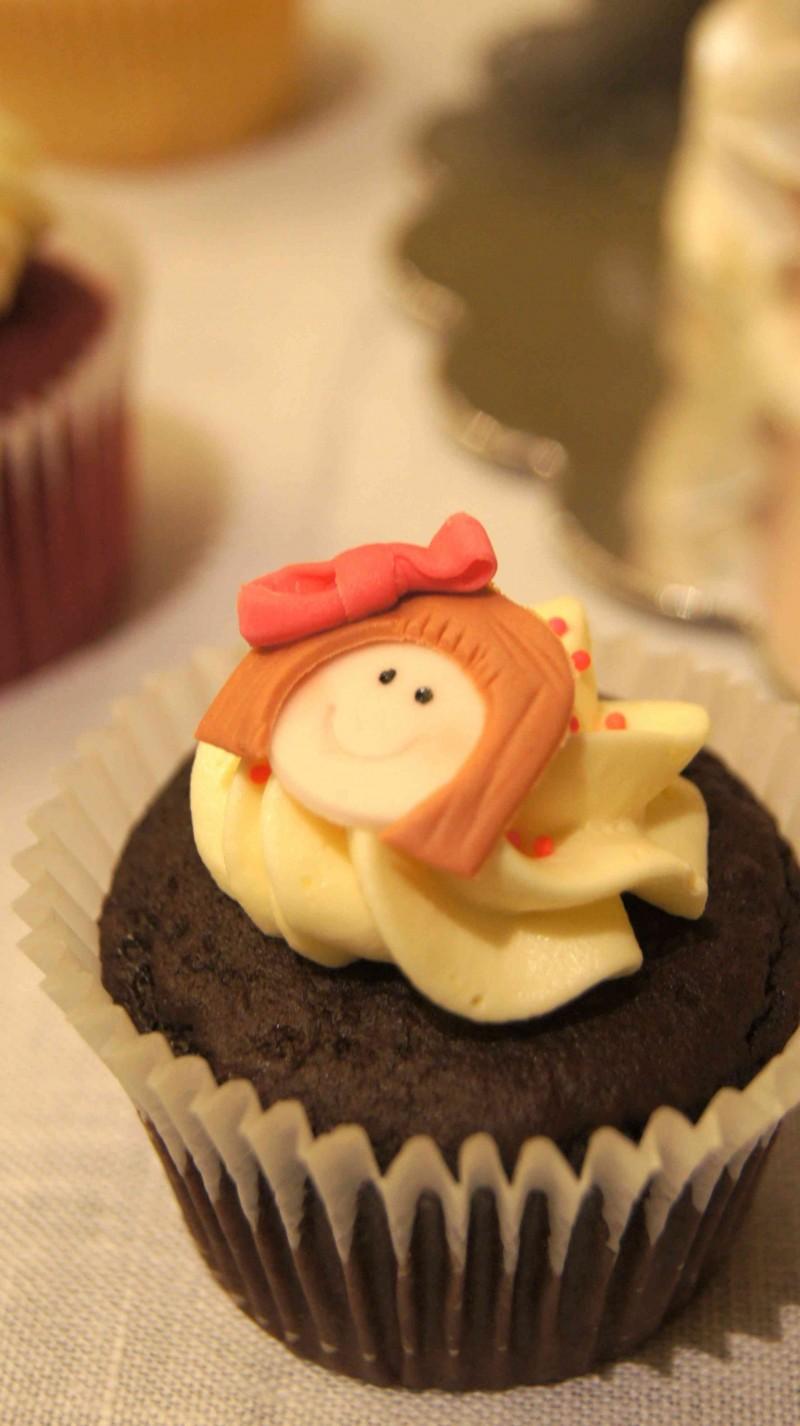 Cupcake de Tartas de Silvia en Feria de reposteria Sugar09_2012 por HojadeMenta