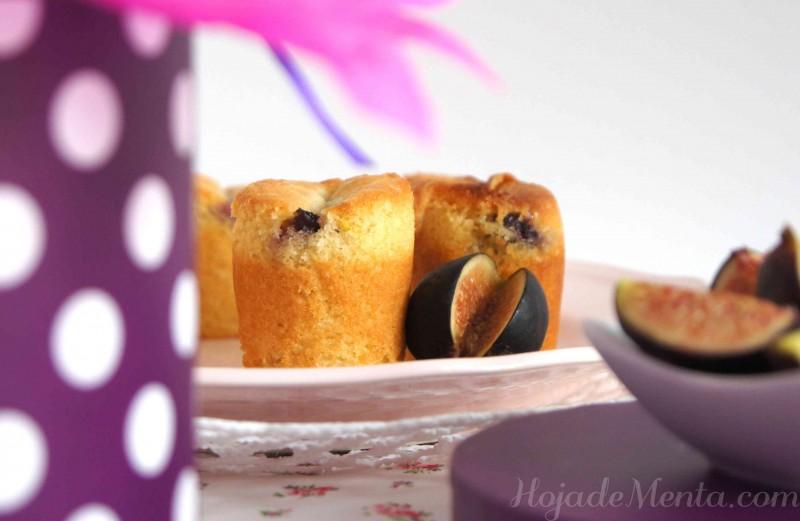 Cupcakes de higo para HojadeMenta