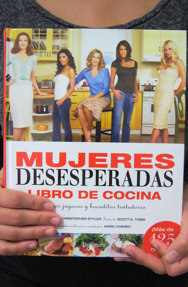 Mujeres desesperadas_Libro de cocina por HojadeMenta