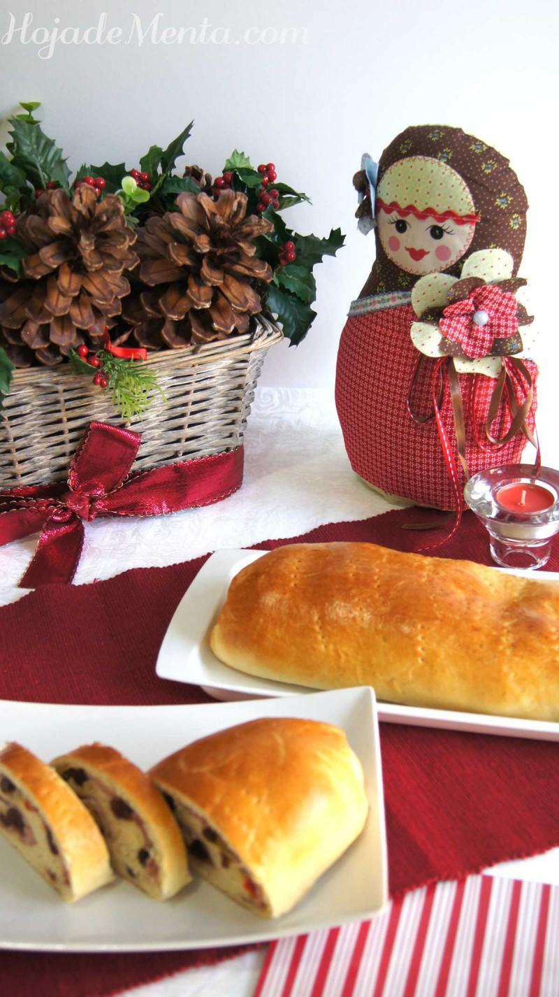 Pan de jamon para HojaDeMenta
