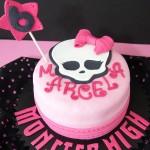 Tarta Monster High de chocolate